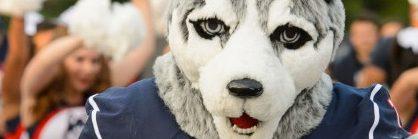 jonathan the husky mascot